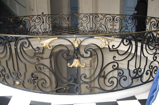 Balustrade en fer forgé