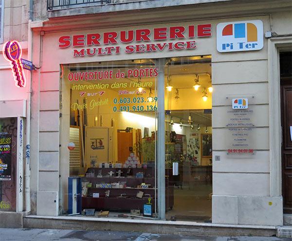 Les locaux de Piter au 90 de la rue Saint Savournin