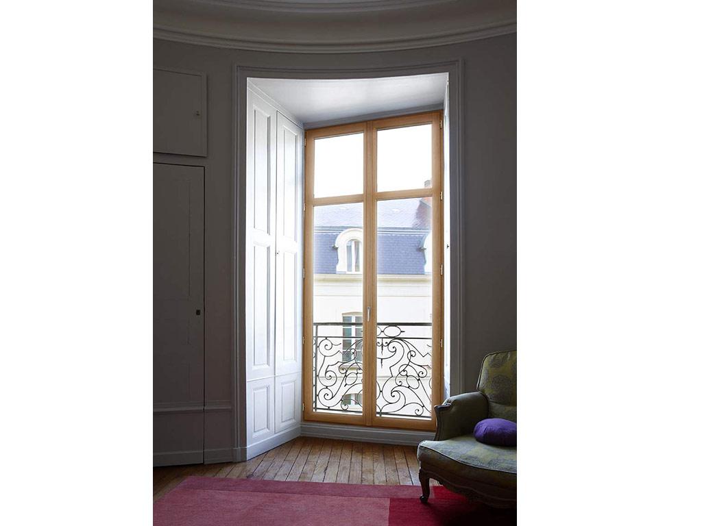 Menuiserie fenêtre bois